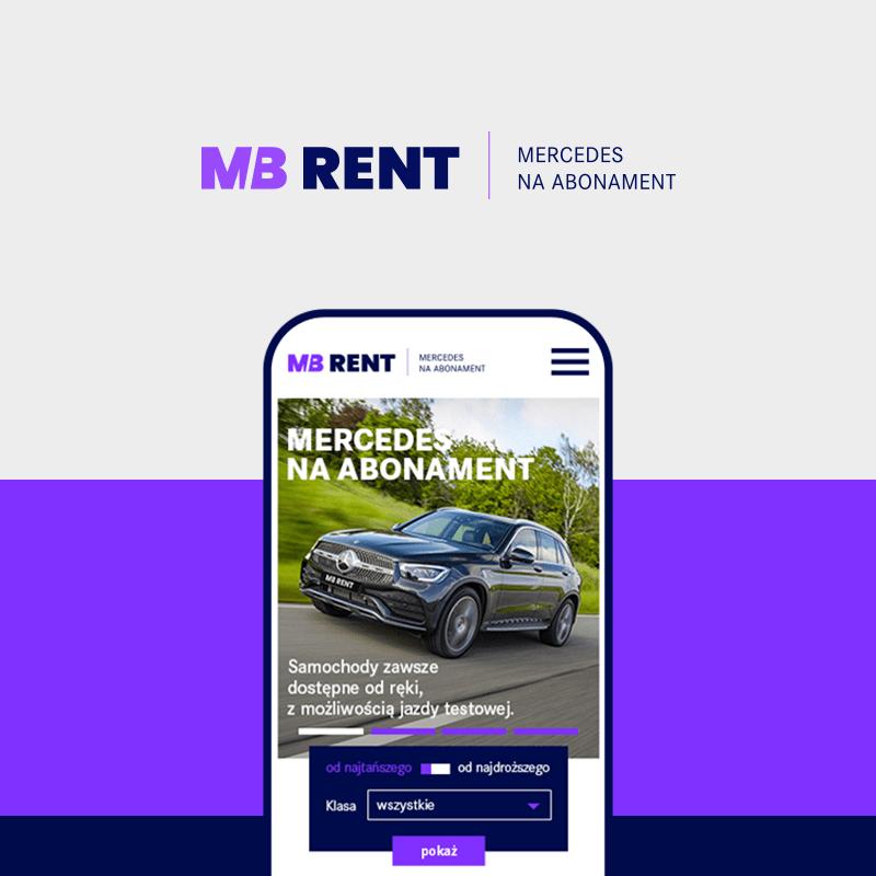 MB RENT – Mercedes na abonament